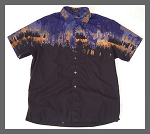 Road Mirage  buttondown shirt