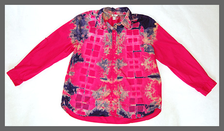 Doubly Square buttondown blouse