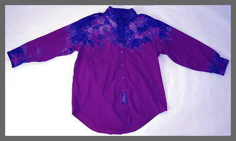 Grapes buttondown shirt