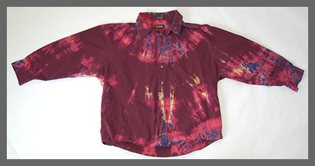 Red Dawn buttondown shirt