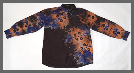 Inverse Eyes buttondown shirt