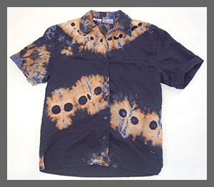 Ghost Gang buttondown blouse
