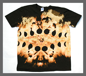 Green Cheese Phases Tee