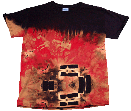 Sculpture Burning tee